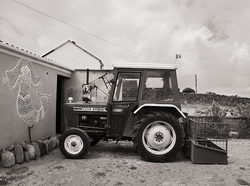Tractor and Mermaid, Inisheer, Aran Islands, 2007