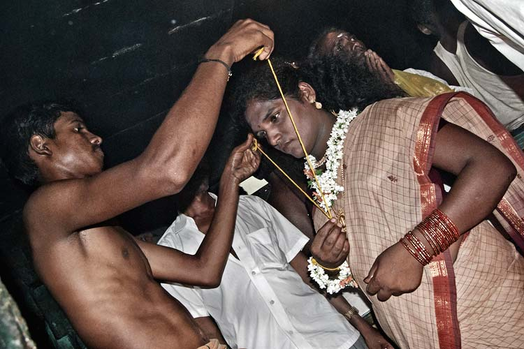 Getting married to god Aravan