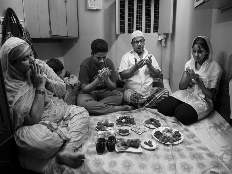 Iftaar with family…