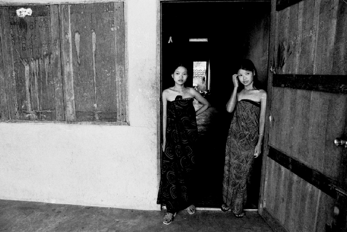 Young Burmese sex workers