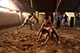 Wrestling in the akhara