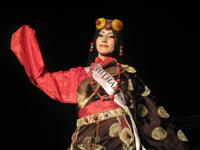 Yeshi Lamho in her Traditonal Tibetan Dress at the Miss Tibet 2009