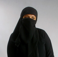 The Burkah woman