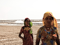 Salt workers, Kutch, India