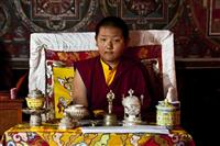 The young monk is the new head of the Sakya sect in Upper Mustang region