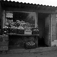 Roadside vegetable stall