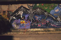 The Berlin Wall : Bat Punk