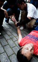 Broken Wrist, Le Parkour Indonesia