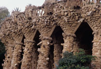 Guell Park walkway